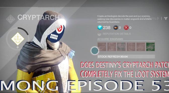 Does Destiny's Cryptarch Patch Completely Fix the Loot System?