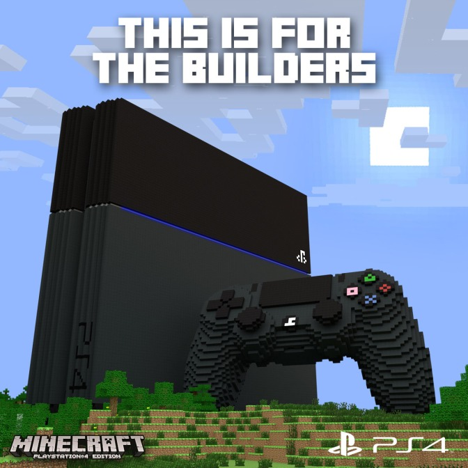 Confirmed Date for PS4 Disc Version of Minecraft