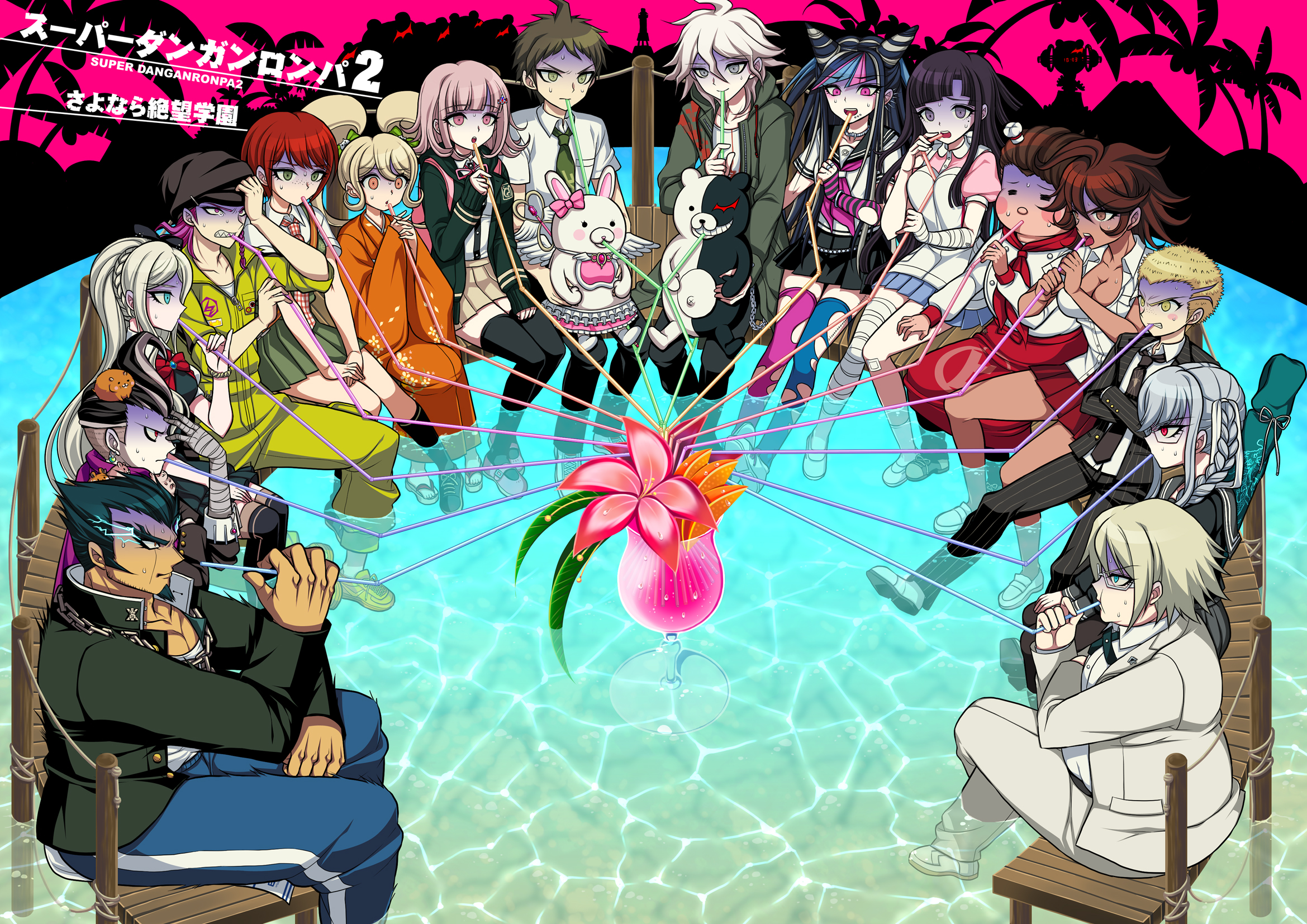 Danganronpa 2: Goodbye Despair Review | Middle Of Nowhere Gaming