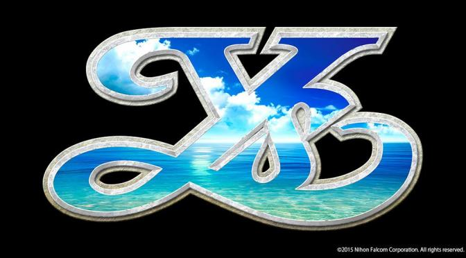 New Ys Game for PS4 and Vita