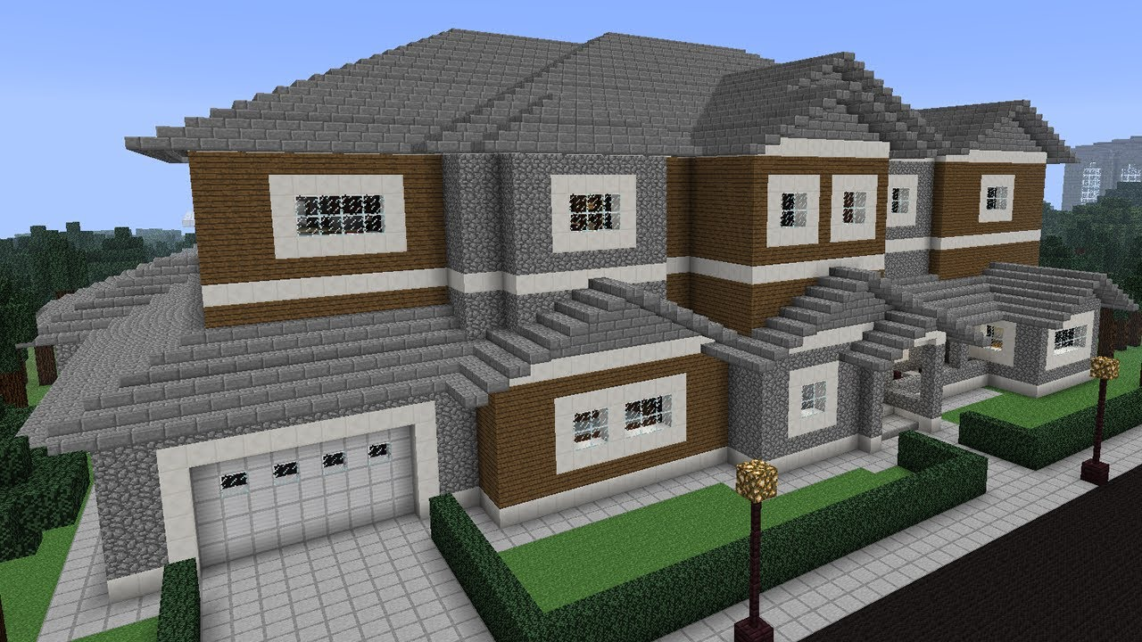 Microsoft has officially purchased minecraft for 2 5 for Big modern houses on minecraft