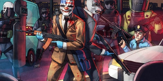 PayDay 2 Calls Up Hotline Miami For New DLC