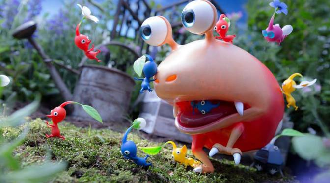 Pikmin Movie Premiere Set
