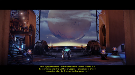 One of the few cut scenes in the game