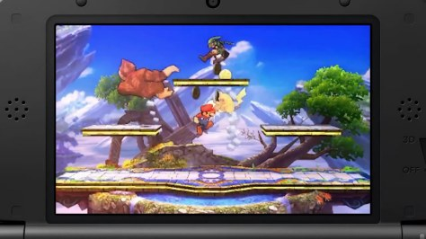 super smash bros 3ds e3 trailer