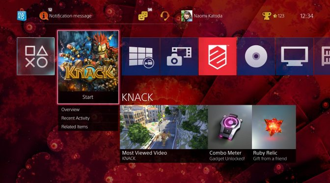 PS4 Update 2.0 to add USB Support, Library Changes