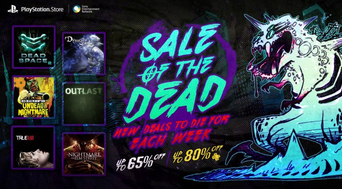 Sale of the Dead and Namco Sale on PlayStation Store