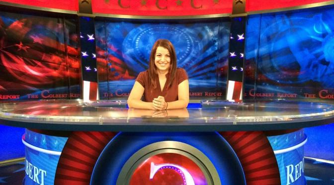Anita Sarkeesian Joins The Colbert Report to Debate GamerGate