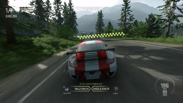 Three Thousand MPH in Driveclub?