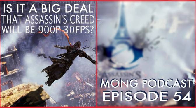Is it a big deal that Assassin's Creed will be 900p 30fps?