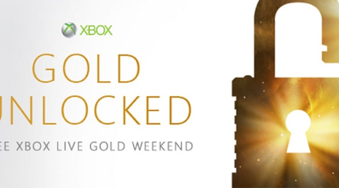 Xbox Live Gold Free This Weekend on Xbox 360