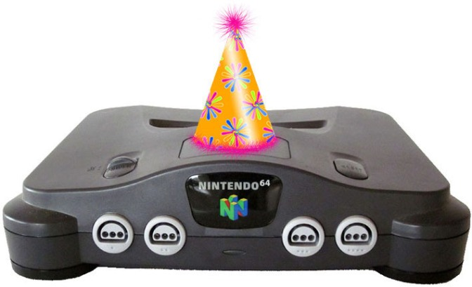 You Know You're Old When N64 is a Legal Adult