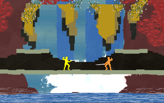 Nidhogg Lands on PlayStation Platforms Today