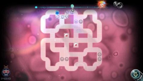 A more complex level in Laboratory mode.