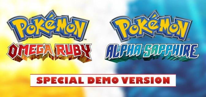 Pokemon-ORAS-Demo-version