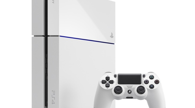 Standalone White PS4 gets UK Release Date
