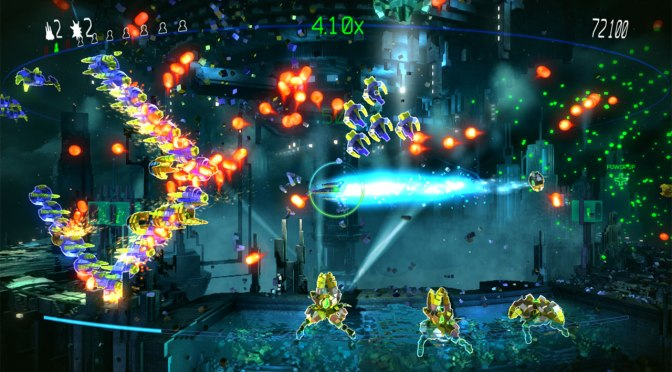 Resogun Coming to PS Vita