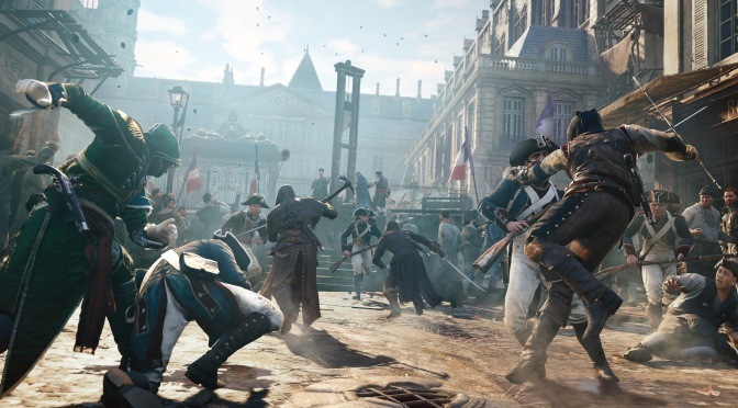 Ubisoft Handing Out Free Assassin's Creed Unity DLC