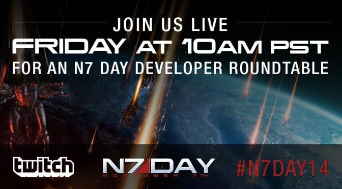 N7 Day Developer's Stream This Friday