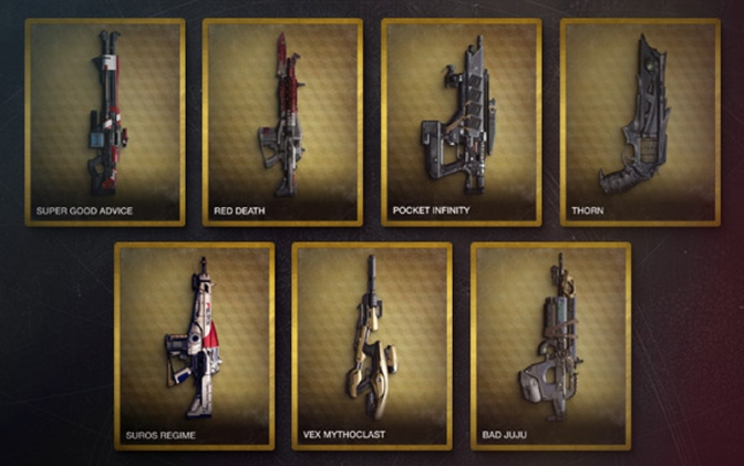 Destiny Exotic Buffs Inbound!