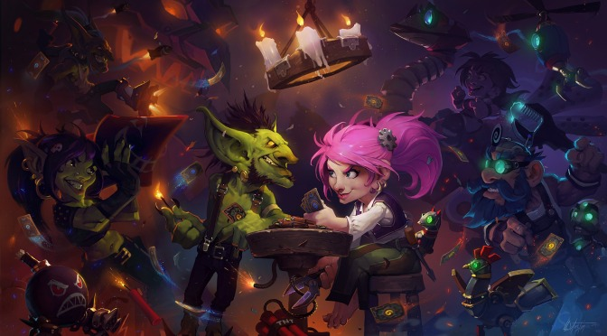 Hearthstone Expansion Goblins Vs Gnomes Announced
