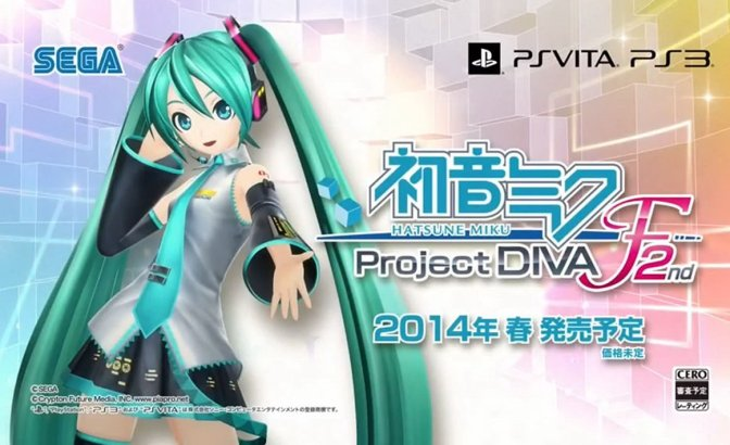 Hatsune Miku Project Diva F 2nd Full Japanese DLC Heading West