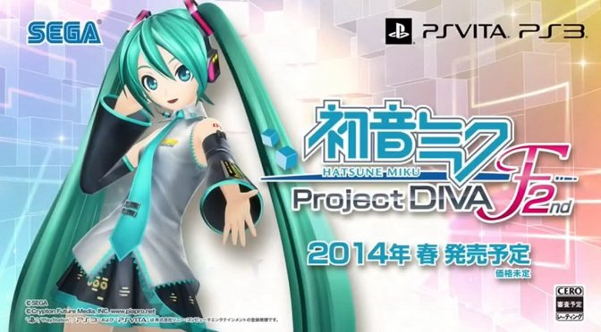 Hatsune Miku Project Diva F 2nd Full Japanese DLC Heading West