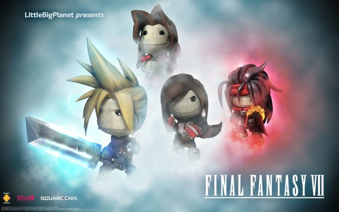Final Fantasy VII has been recreated in LittleBigPlanet