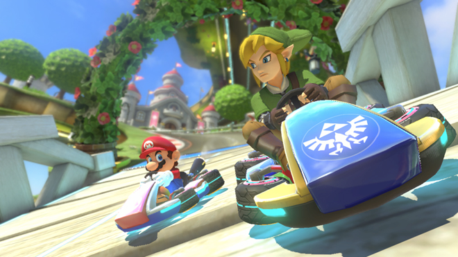 The Legend of Zelda X Mario Kart 8 Review | Middle Of