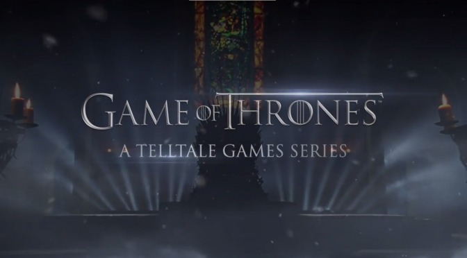 Get Your First Look at Telltale's Game of Thrones, Due Out Tomorrow