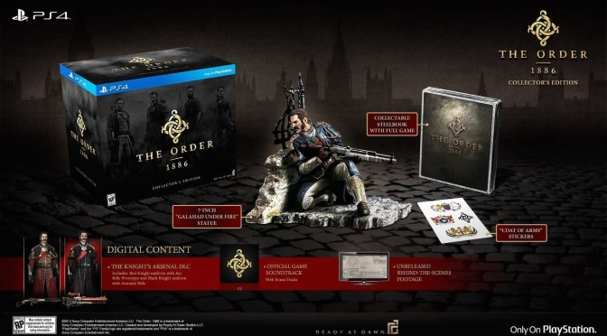 The Order: 1886 Collector's Edition Gets A New Trailer