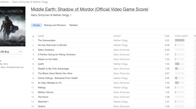 Middle-earth: Shadow of Mordor Makes its Way Onto iTunes