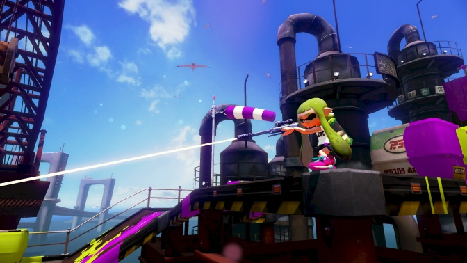 Splatoon's Single Player Outlined