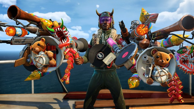New Weapons Added to Sunset Overdrive