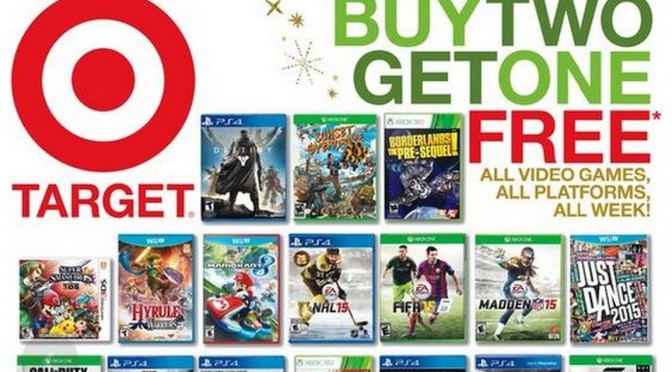 Buy 2 Get 1 Free at Target This Week