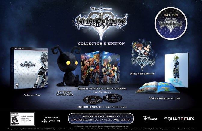 Kingdom Hearts 2.5 HD ReMIX Gets A Collector's Edition