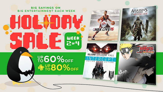 Week Two of the PSN Holiday Sale brings more holiday cheer