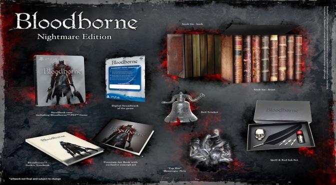 Bloodborne's Nightmare Edition and Pre-order Bonuses Revealed