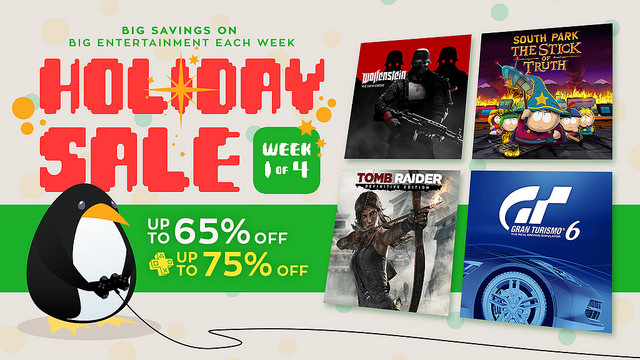 Tis' the Season with the PSN Holiday Sale