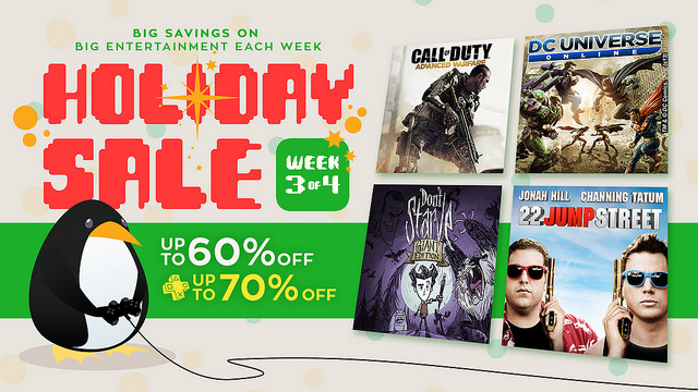 Deck the Halls with the PlayStation Network Holiday Sale: Week Three