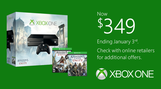 Xbox One Returning to $400