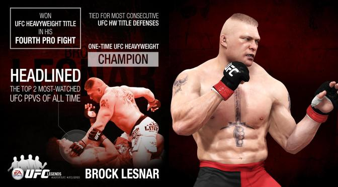 "EA Sports UFC adds ""Legends"" in latest free update"