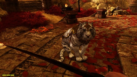You have a tiger on your team in the trippy Shangri-La missions.