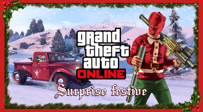 GTA Online's Festive Surprise Extended Due to PSN and XBL Outages