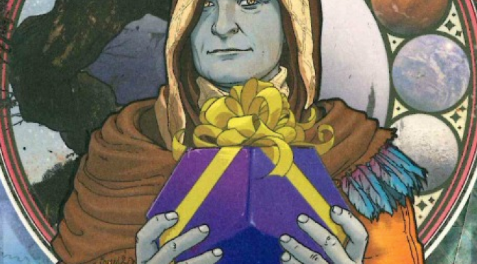 Bungie's Holiday Card Cryptarch is a Troll