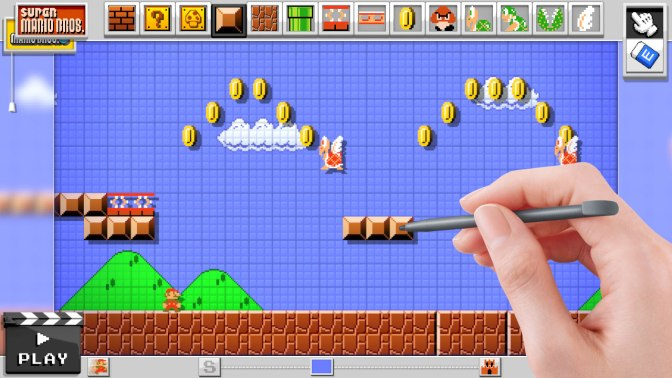 Online Sharing Confirmed For Mario Maker