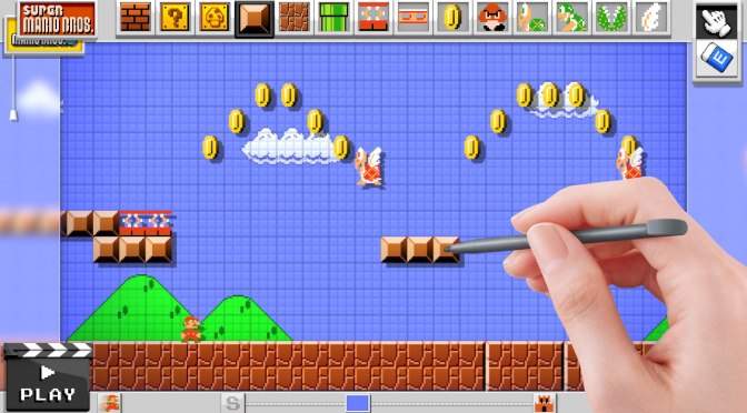 Online Sharing Confirmed For Mario Maker