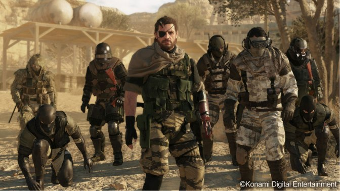 The Phantom Pain Includes Metal Gear Online