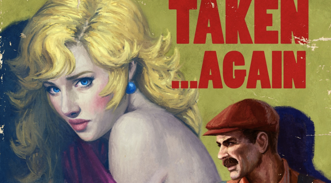 Check Out Classic Nintendo Characters with a Pulpy Twist