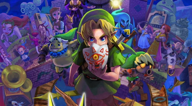 Details on Hyrule Warriors Majora's Mask DLC is Descending